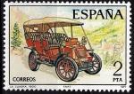 Stamps Spain -  2409 Automóviles antiguos españoles. La Cuadra.