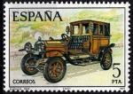 sellos de Europa - España -  2411 Automóviles antiguos españoles. Elizalde.