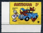 Stamps America - Antigua and Barbuda -  Abuela pato