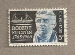 Sellos de America - Estados Unidos -  Bicentenario de Robert Fulton, inventor