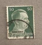 Stamps Ukraine -  Ocupación alemana