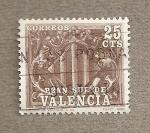 Stamps Spain -  Valencia, Plan Sur