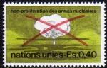 Sellos de America - ONU -  ONU GINEBRA 1972 23 Sello Nuevo ** No a la Proliferación de las Armas Nucleares 0,40Fs