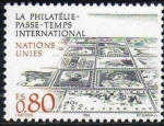 Sellos de America - ONU -  ONU GINEBRA 1986 147 Sello Nuevo ** La Filatelia Pasatiempo Internacional 0,80Fs