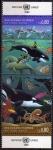 Stamps ONU -  ONU GINEBRA 1992 214/5 Sellos Nuevos ** Oceanos Ambiente Marino Peces, Orcas, Pulpos,etc. 0,80Fs