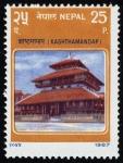 Stamps Asia - Nepal -  NEPAL - Valle de Valle de Katmandú