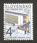 Stamps Europe - Slovakia -  maquina clasificadora automatica del correo