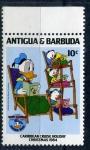 Stamps America - Antigua and Barbuda -  50 cumpleaños de Donald
