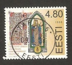 Sellos del Mundo : Europa : Estonia : 750 anivº de la justicia de lubeck, en tallin