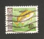 Stamps Tanzania -  pez, galerinus