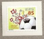 Sellos de Europa - Suiza -  Campeonato fútbol