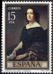Sellos de Europa - España -  2436 Federico Madrazo. Gertrudis Gómez de Avellaneda.