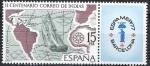 Sellos de Europa - España -  2437    ESPAMER 77
