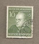 Stamps Germany -  Dr. Carl Sonnenschein, benefactor de la humanidad