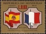Sellos de America - Honduras -  Centenario de la fundacion de la U.P.U