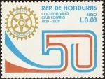 Sellos de America - Honduras -  Cincuentenario Club Rotario