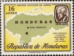 Stamps Honduras -  San Ignacio