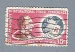 Sellos de America - Estados Unidos -  Conferencia Postal