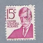 Stamps United States -  Oliver Wendell Holmes
