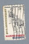 Sellos de America - Estados Unidos -  Marine Corps