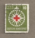 Stamps Germany -  Cruz Roja