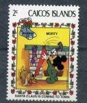 Stamps Turks and Caicos Islands -  Navidad
