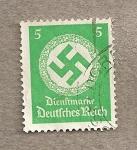 Stamps Germany -  Svastika