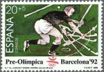 Stamps Spain -  BARCELONA