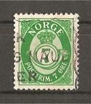 Stamps Norway -  Cifra y Corneta Postal.