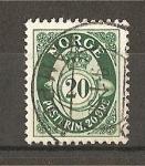 Sellos de Europa - Noruega -  Cifra y Corneta Postal.