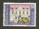 Stamps Switzerland -  centº de la 1ª conferencia internacional de correos en París