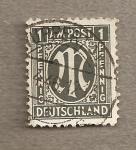 Sellos de Europa - Alemania -  A.M.G.