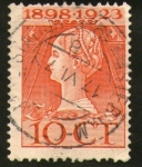 Stamps : Europe : Netherlands :  reina guillermina