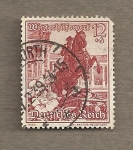 Stamps Germany -  Monumento al príncipe Eugenio en Viena