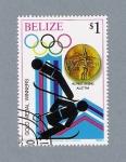 Sellos del Mundo : America : Belice : Olimpiadas 1980