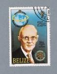 Sellos del Mundo : America : Belice : Paul P. Harris Fundador de Rotary