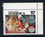 Stamps Dominica -  Peter Pan