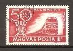 Stamps Hungary -  50 Aniversario de las lineas ferreas.