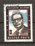 Sellos de Europa - Hungría -  Salvador Allende.