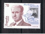 "Stamps of the world : Spain :  Edifil  3551  Grabadores  españoles "" José Luis López Sánchez - Toda y sello de Mariana Pineda """