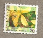 Stamps Switzerland -  Flores medicinales