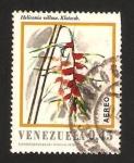 Stamps : America : Venezuela :   flor heliconia villosa