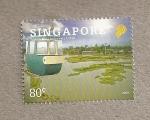 Stamps Asia - Singapore -  Taman, Parque recreativo de Indonesia