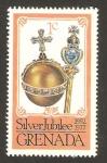 Stamps Grenada -  25 años del jubileo