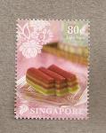 Sellos de Asia - Singapur -  Postres