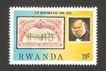 Sellos del Mundo : Africa : Rwanda : sir rowland hill