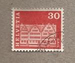 Stamps Switzerland -  Gais