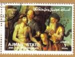 Sellos de Asia - Emiratos Árabes Unidos -  AJMAN - Pintura religiosa