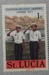 Sellos del Mundo : America : Santa_Lucia : caribbean boy scout jamboree