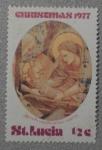 Stamps Saint Lucia -  chrismas
